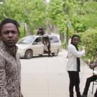 Kendrick Lamar standing in garden