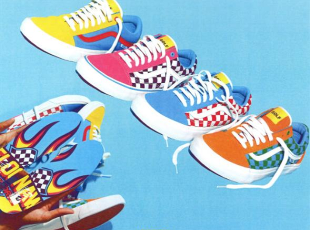 Tyler The Creator Golf Wang Vans