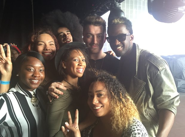 Music Potential Backstage with Sam Smith