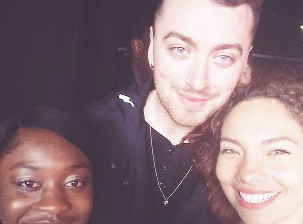 Stunning Selfie with Susan, Stephanie & Sam Smith