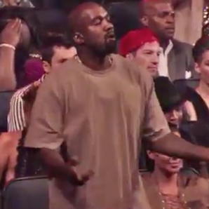 Kanye West Dancing To The Weeknd Performance