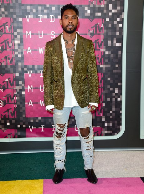 Miguel - MTV VMAs 2015 red carpet arrival