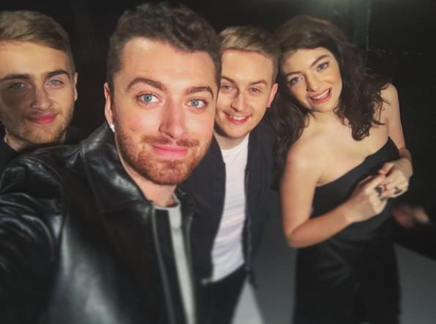 Disclosure Sam Smith Lorde