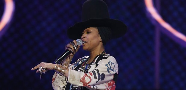 Erykah Badu Soul Train Awards 2015