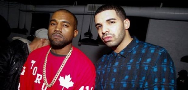 Drake and Kanye West