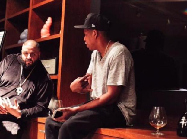 DJ Khaled with Jay Z