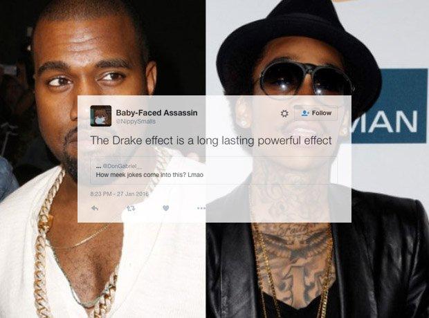 Kanye West and Wiz Khalifa
