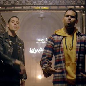 G Eazy and Chris Brown