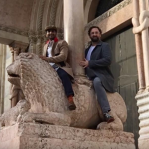 Aziz Ansari and Eric Wareheim