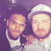Image 6: Chris Brown and Justin Timberlake