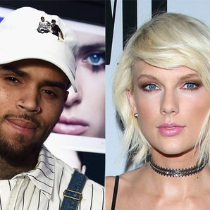 Chris Brown and Taylor Swift