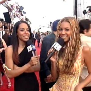 Aaliyah and Beyonce