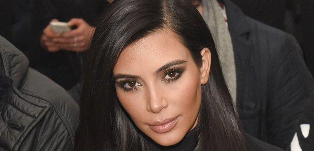 Kim Kardashian Robert Geller - Front Row