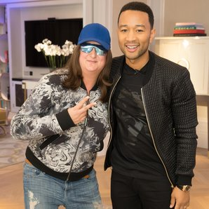 John Legend and Honey G