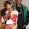 7. Bey joined husband Jay, who went as the character Dwayne Wayne from the show 'A Different World'.