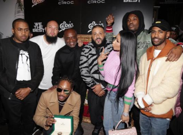 DJ Khaled and friends Major Key party