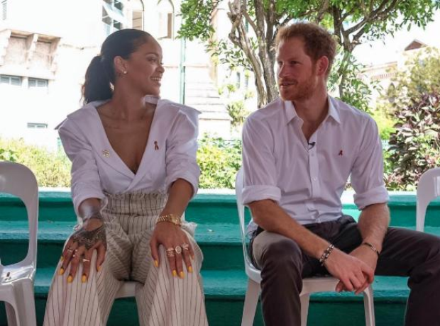 Rihanna and Prince Harry