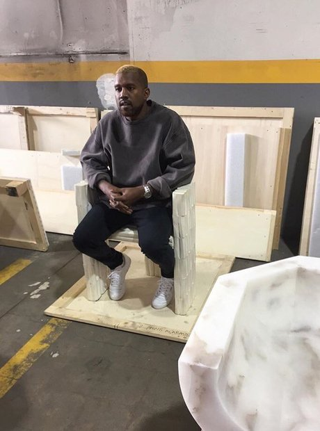 Kanye West is spotted for the first time since hos
