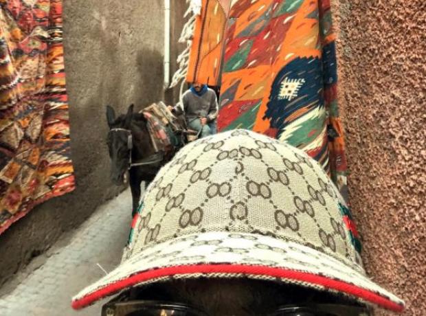 Skepta In Morocco