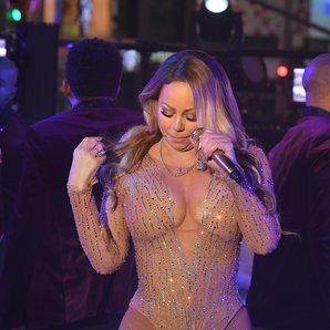 Mariah Carey New Years Eve Performance