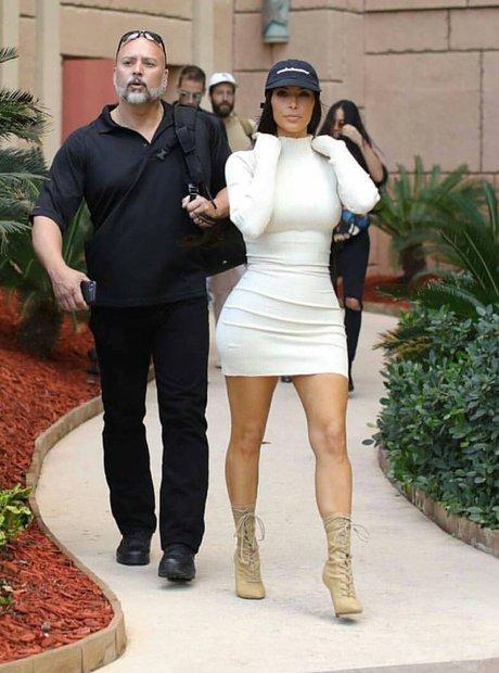 Kim Kardashian Yeezy Dubai