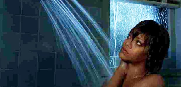 Rihanna Bates Motel Shower Scene
