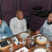 Image 5: DJ Khaled looked deep in conversation with Jay Z a