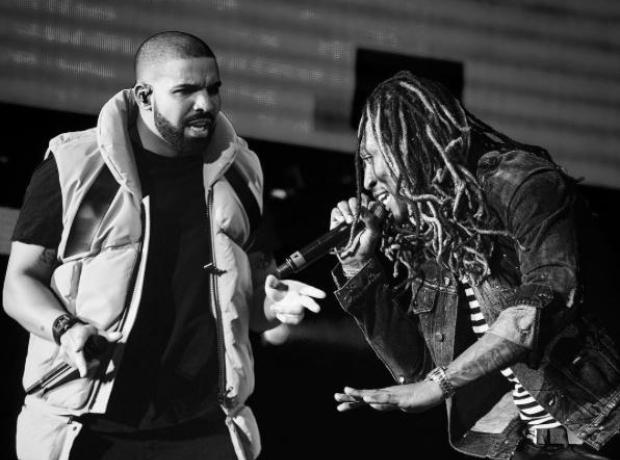 Drake and Future at Coachella 2017