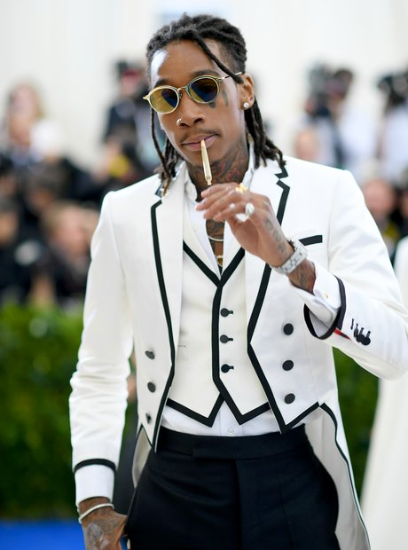 Wiz Khalifa at the Met Ball 2017