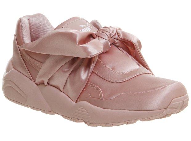 Puma R698 Trainers Pink Satin Fenty