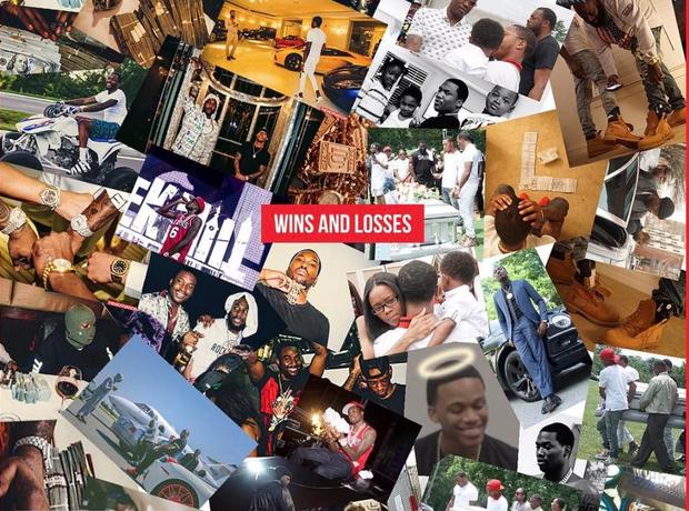 Meek Mill Wins And Losses Album Artwork