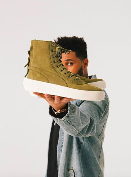 The Weeknd teases his PUMAXO Parallels