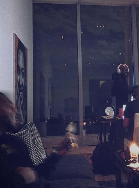 Drake Beyonce Portrait In Studio